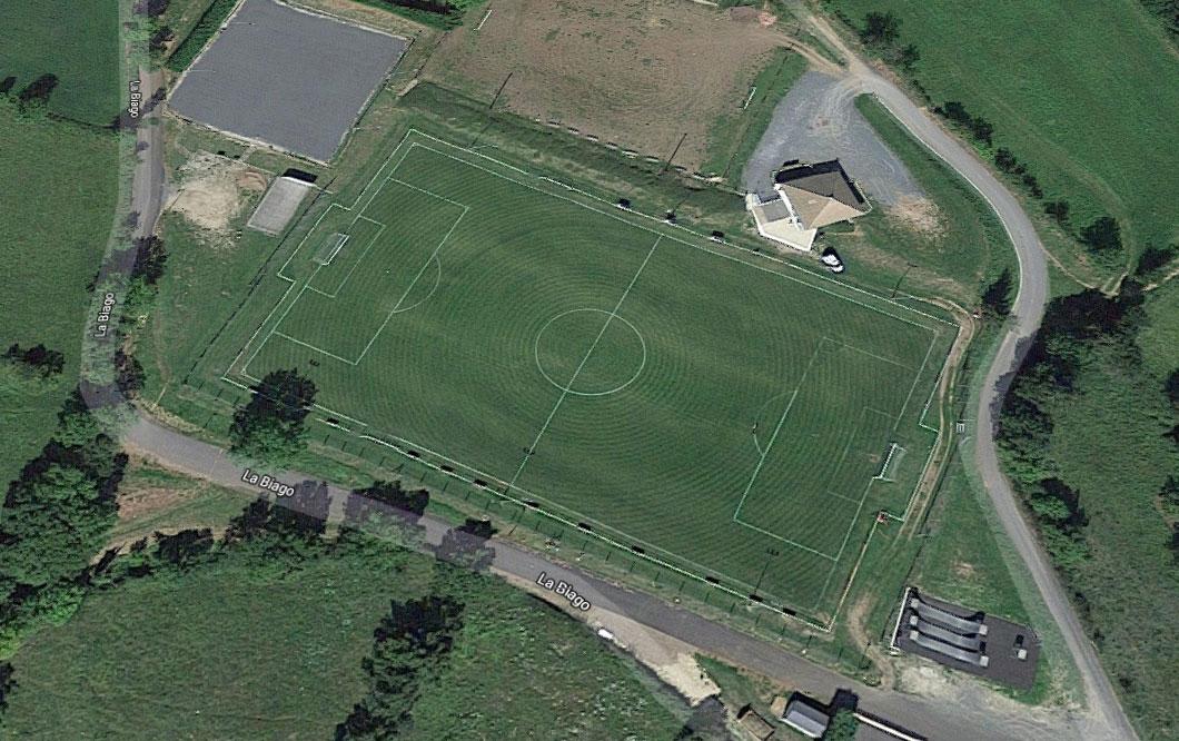 Stade de la Biogue à Badaroux