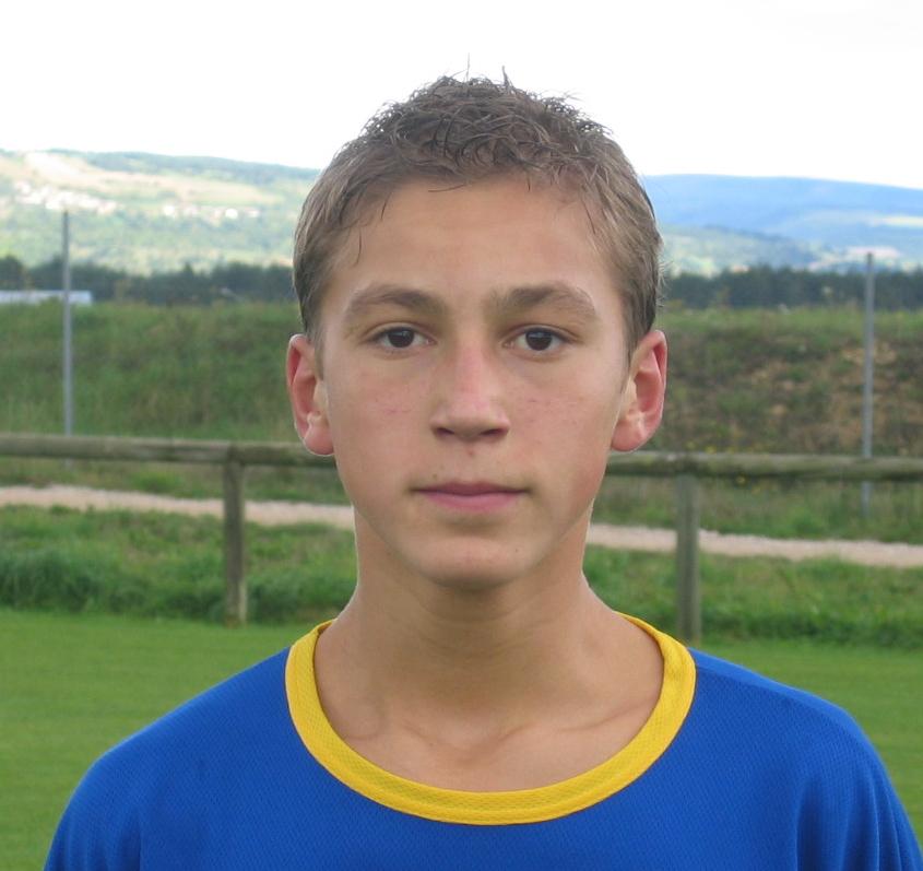 2007 U15 Robert Yoann