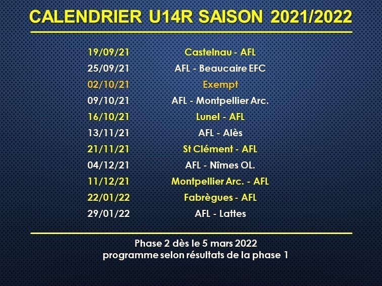 calendrier-U14R-2021-2022