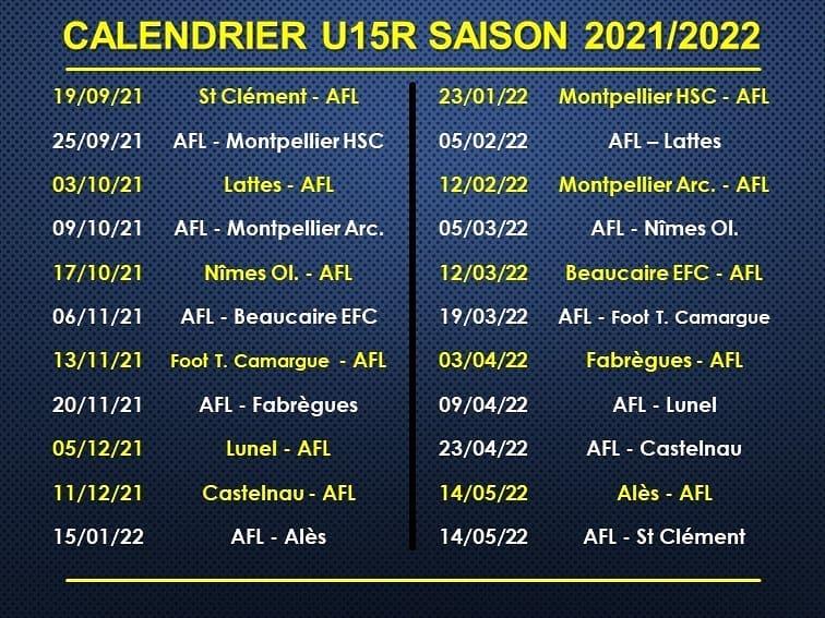 calendrier-U15R-2021-2022