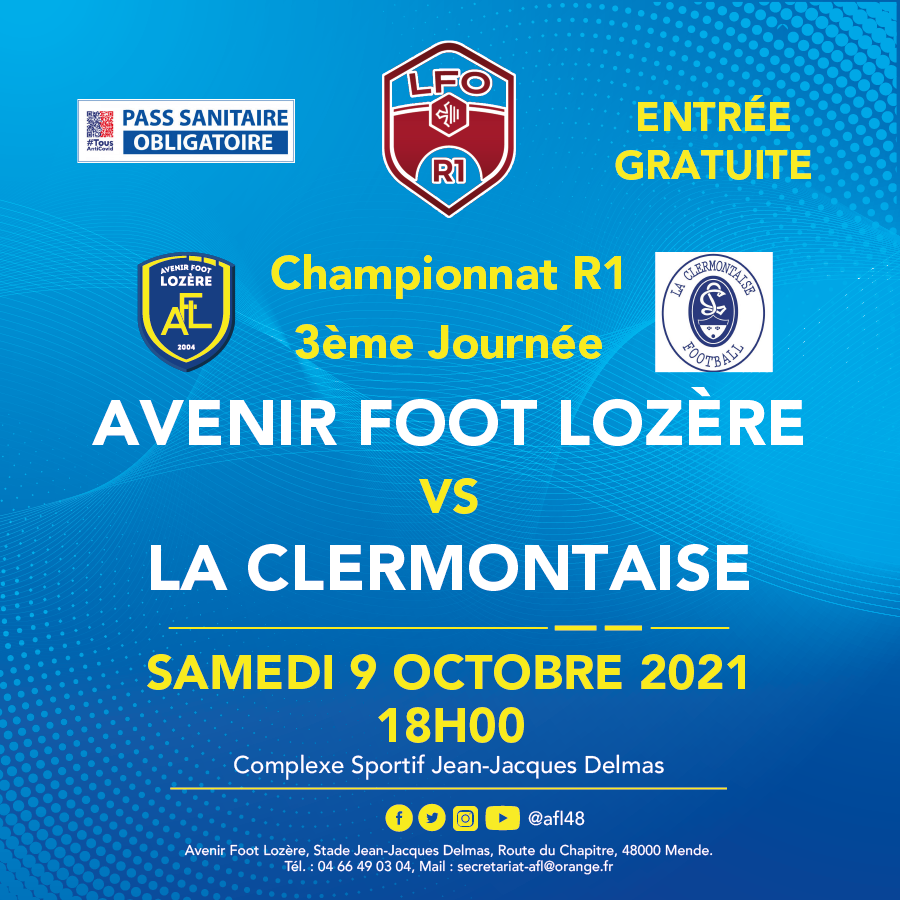 2021-10-09 AFL-CLERMONTAISE